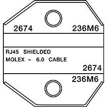 Greenlee Paladin Tools 2674 Shielded RJ45 Amp/Molex Die, for Crimp-All 8000/1300 Series