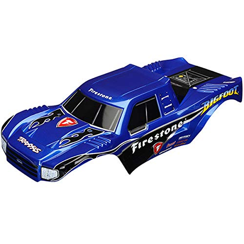 Traxxas 1/10 Body, Painted, Officially Licensed Replica: Bigfoot Firestone