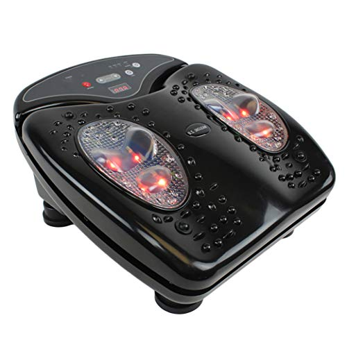 Daiwa Felicity Foot Vibration Massager for Blood Circulation with Infrared Heat Footvibe Pro ()