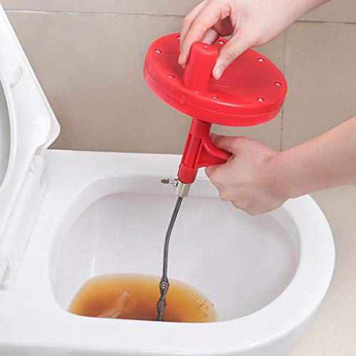 KINSS Kitchen Toilet Sewer Blockage Hand Tool Pipe Dredger 7M Drains Dredge Cleaner Furniture Accessories Explosion