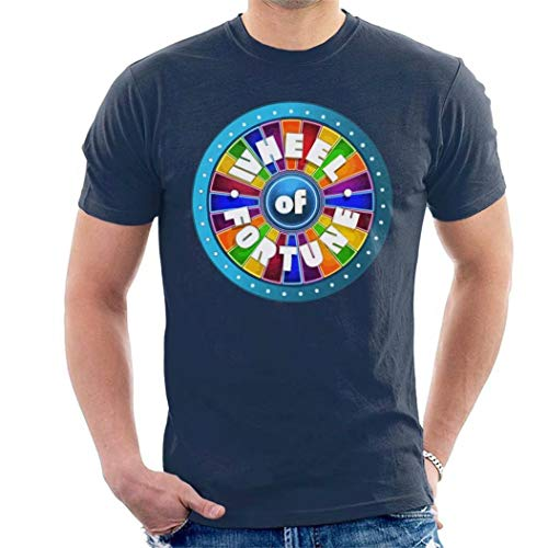 Maerxlinz Wheel of Fortune Logo Popular Tee,Fashion Men's Personality Soft T-Shirt -
