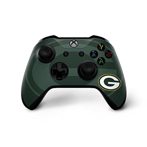 Green Bay Packers Xbox One X Controller Skin - Green Bay Packers Double Vision | NFL X Skinit Skin