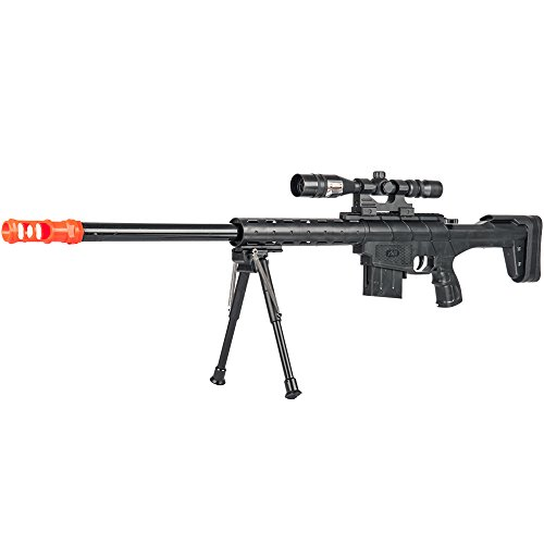 BBTac Airsoft Sniper Rifle Gun BT-2912 - Powerful Spring Loaded Easy to use, Great for Starter Pack Game Play
