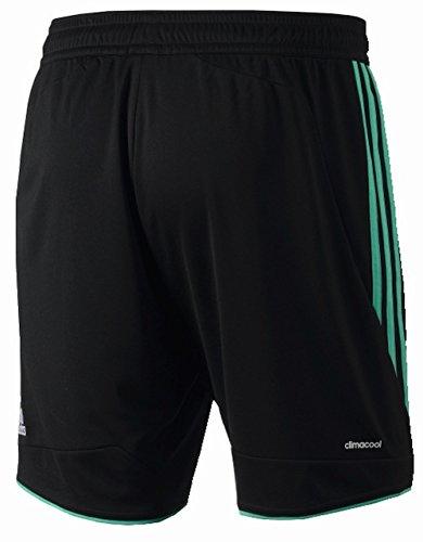 adidas Herren Shorts FC Schalke 04 3rd Black/Blaze Green S13