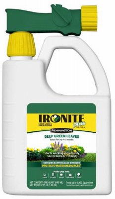 Central Garden Ironite 7-0-1 Ready to Spray Lawn (Coverage 5,000 sq ft), 32 oz