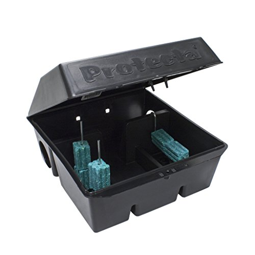 Protecta Heavy Duty Rat Bait Stations (Best Rat Poison Available)