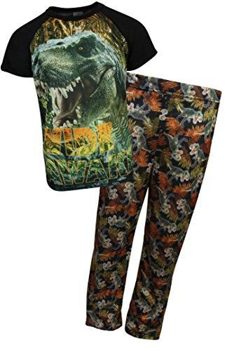 hic Sublimation Pajama Set, Orange Dino, Size 4' ()