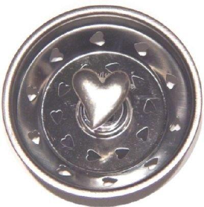 Heart Pewter Kitchen Strainer (Sink Kitchen Pewter Strainer)