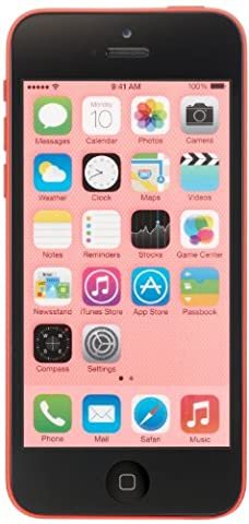 Apple iPhone 5c A1532, 8 GB, Factory Unlocked (Pink) (Prepaid Iphones Boost Mobile)
