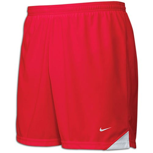 Nike Men's Tiempo Soccer Dri-Fit Shorts Red Medium