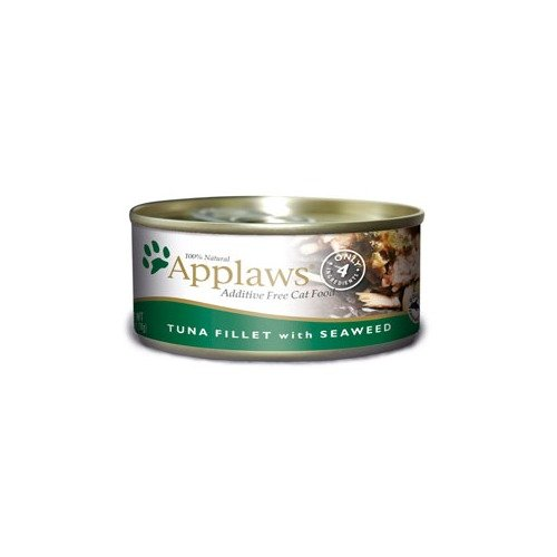 Applaws Cat Tin 2.4oz Tuna with Seaweed - 24 Pack