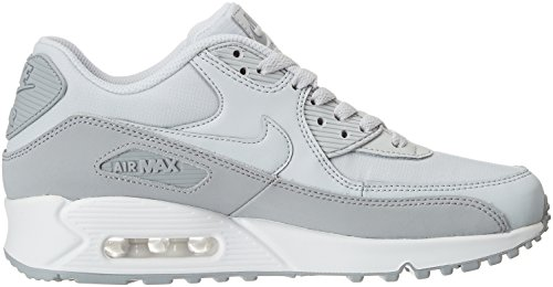 homme white Gris 088 de Wolf Chaussures Grey Air Pure Platinum 90 running Max Essential NIKE q0OA6w