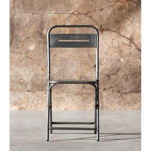 Chaise Pliante Vintage Steel