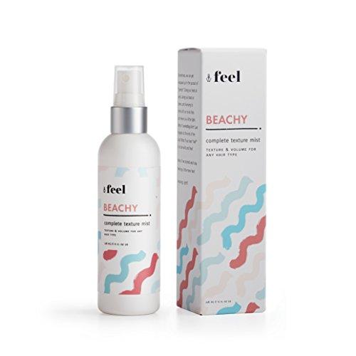 Feel Beachy Complete Texture Spray for Hair - Salt Spray with Advanced Polymers - 4oz