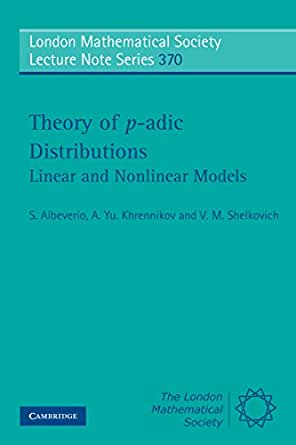 theory of p adic distributions albeverio s khrennikov a yu shelkovich v m