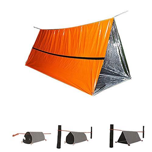 Samoii Tube Tent, Emergency Survival Shelter Survival Tent Emergency Sleeping Bag