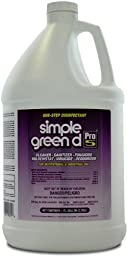 Simple Green 30501CT d Pro 5 Disinfectant, 1 Gallon Bottle