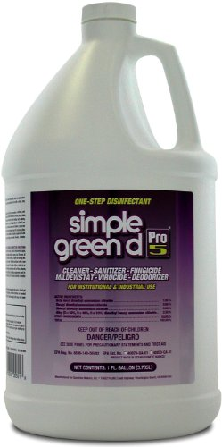 Simple Green 30501 d Pro 5 Disinfectant, 1 gal Bottle from SIMPLE GREEN