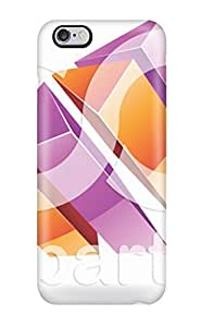Cute Appearance Cover/PC QSonGJQ9071lAeAx Purple Abstract 3d Logos Vector Case For Iphone 6 4.7Inch Cover