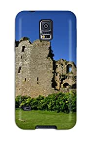 New Style 8699622K69597759 Hot Fashion Design Case Cover For Galaxy S5 Protective Case (bolton Castle)