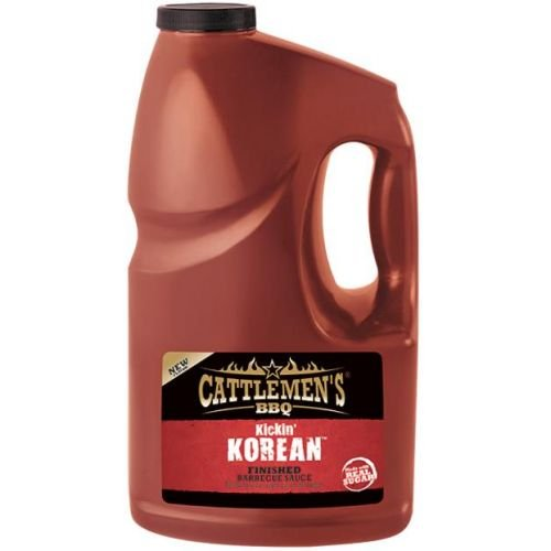 Cattlemens Kickin Korean Finished BBQ Sauce, 1 Gallon - 2 per case. by French's