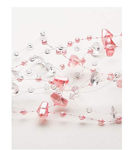 Sullivans Elegant Beaded Garland, 5' (Pink)