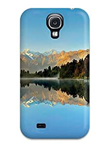 High Impact Dirt/shock Proof Case Cover For Galaxy S4 (lake)