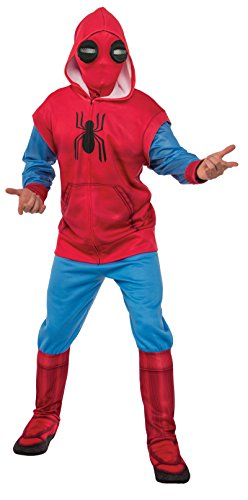 Make Iron Man Costumes (Rubie's Men's Adult Spider-Man: Homecoming Deluxe Sweats Costume, As/Shown, Standard)