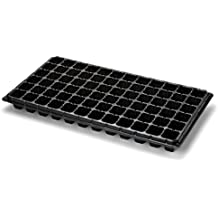 72 Cell Seed Starter Tray - 5 Pack - Extra Strength Starting Trays for Planting Seedlings, Propagation, Germination Plug Station by Bootstrap Farmer