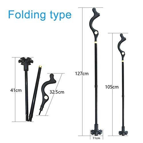 Walking Cane Hiking Poles Walking Stick For Elder Adjustable Trekking Poles Telescopic Scandinavian Walking Sticks Anti…