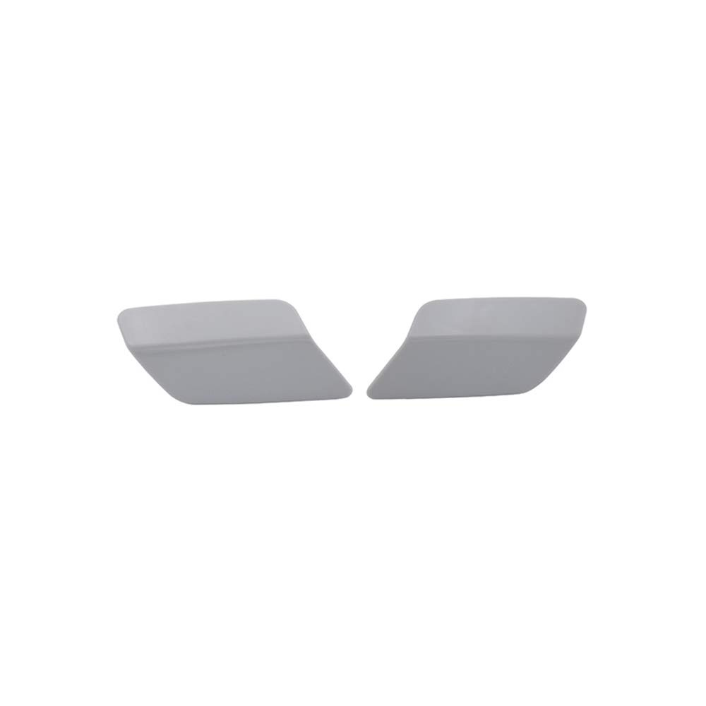 1Pair 61677253393,61677253394 Front Bumper Headlight Washer Covers Cap Generic Fit For BMW 3 Series E92 LCI E93 LCI 2010-2013
