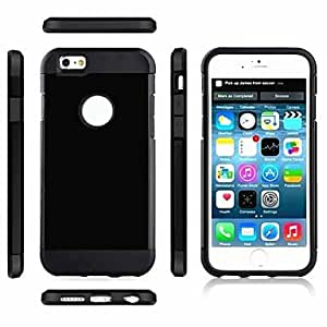 QHY Armor Robot Back Cover Case for iPhone 6(Assorted Colors) , White