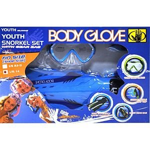 BODY GLOVE YOUTH SNORKEL SET WITH GEAR BAG by Body Glove