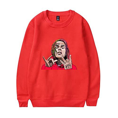 Top Ado 6ix9ine Shirt Homme Sweats 2xs 3xl Femme Rouge1 Ctooo Unisex 0XkN8nwOP