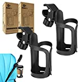 Pack of 2 Stroller Cup Holders | Universal Drinks Holder for Bikes, Trolleys or Walkers (2 Pack)