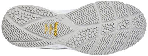 Reebok BS9523, Scarpe da Nordic Walking Uomo, Bianco (Whitesteel 0), 45 EU
