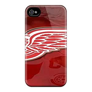 Hot UPC10047pMCb Cases Covers Protector For SamSung Galaxy S4 Case Cover Detroit Red Wings