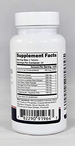 MD Approved Nutraceuticals Natural Testosterone Energy Booster ED Support 60x US 782290919643 eBay
