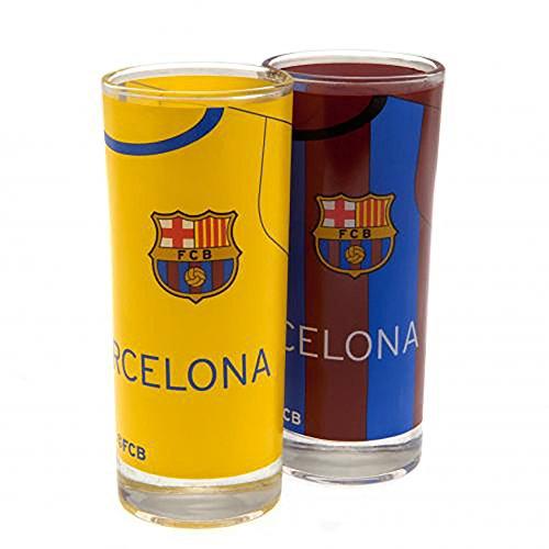 (High Ball Glasses - F.C Barcelona (2 Pack))