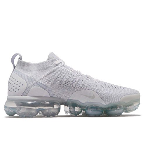 Multicolore Grey Femme W Chaussures Compétition White Football de White NIKE Running 2 Vapormax Flyknit Vast 105 Grey Air WanzvCq