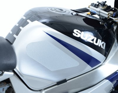 Kit 4pz adesivi antiscivolo serbatoio neri DUCATI 848//1098//1198//Streetfighter 09//14 R/&G Racing 5055780395643