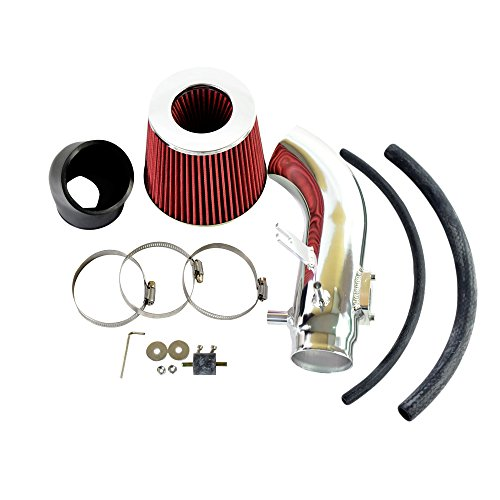 Performance Cold Air Intake Kit with Lifetime Red Oiled Filter for 2006 2007 2008 2009 2010 2011 Honda Civic Si 2.0L