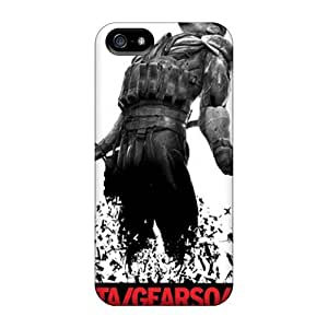 First-class Case Cover For Iphone 5/5s Dual Protection Cover Metal Gear Solid 4