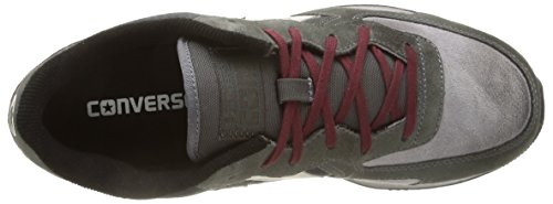 Converse Auckland Racer Ox Suede Metalp Sneaker,Unisex Adulto Grey Dust/Charcoal