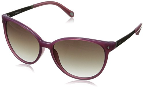 Fossil Women's FOS3007S Cateye Sunglasses,Matte Magenta,56 - Sunglasses Cat Eye 2014