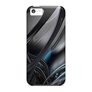 Anti-scratch And Shatterproof Abstract 3d 02 Phone Cases For Iphone 5c/ High Quality Cases