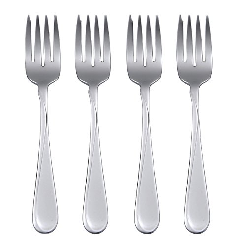 Oneida Flight, Salad Forks, Set of 4 (Salad Stainless 18/8 Fork)