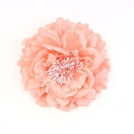 Amazon.com: DealMux decoração talão tecido rosa Peony Flower ...