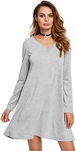 1c435950ce1 Shopping Greys - V-Neck - Stripes or Solid - 1 Star   Up - Dresses ...
