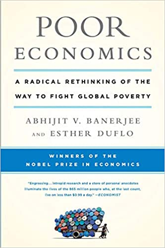 Cover of Poor Economics book by Abhijit Banerjee and Esther Duflo